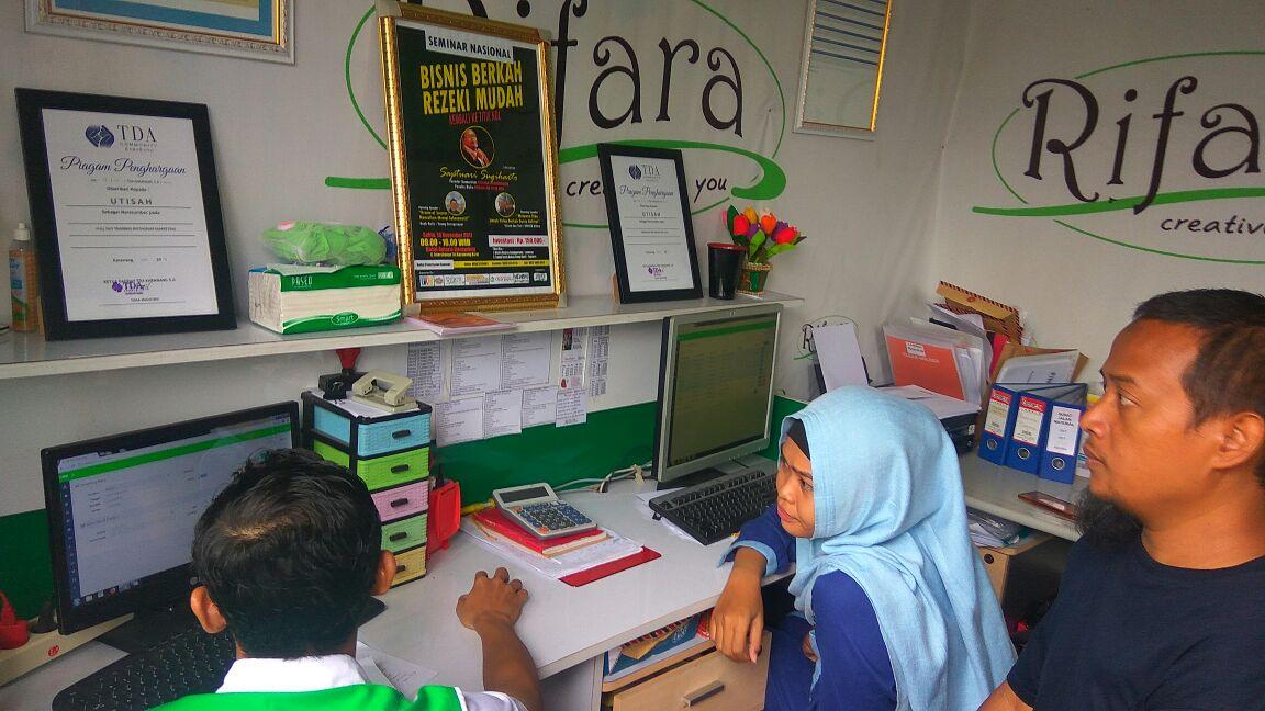 Kunjungan Team Aabc-Software Dengan Rifara